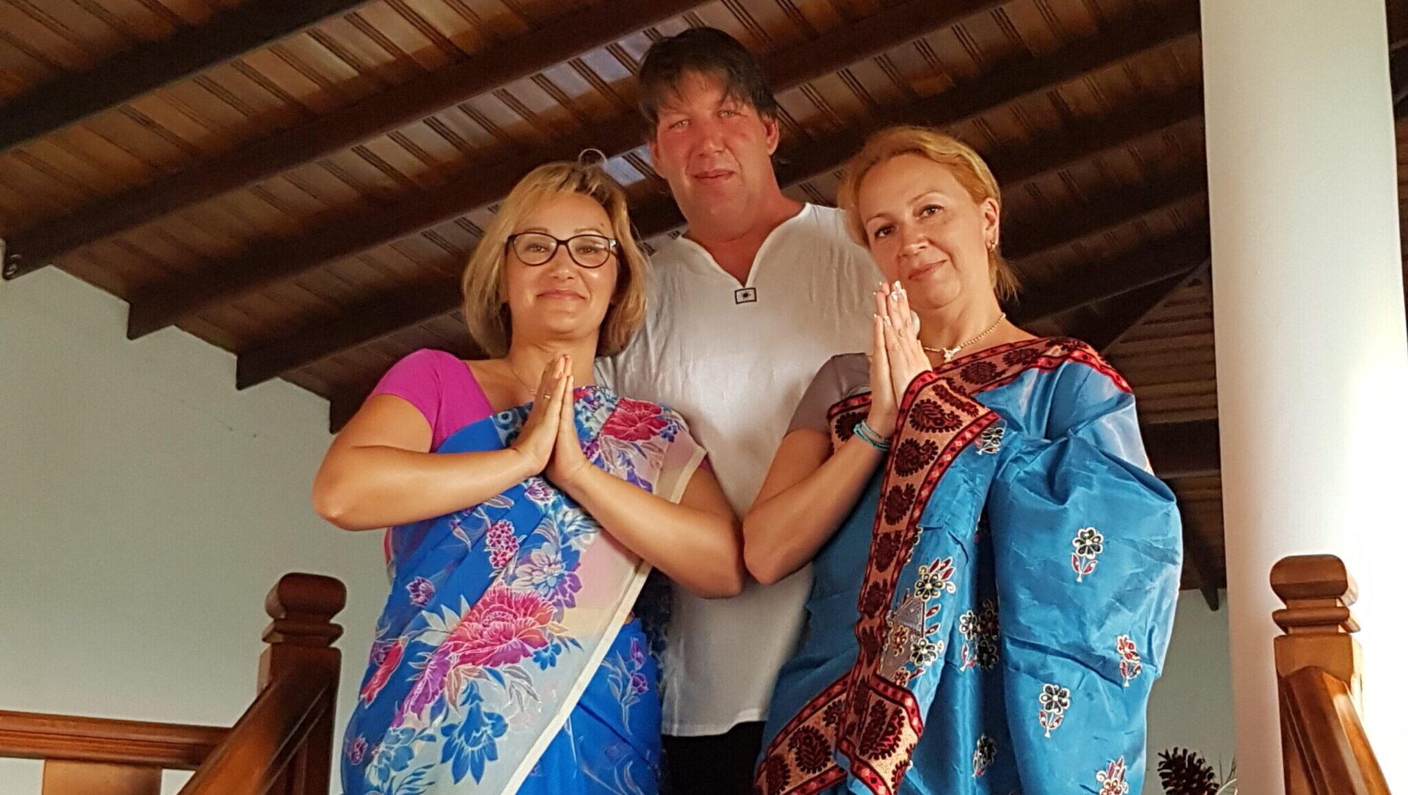 Фотосессия в сари