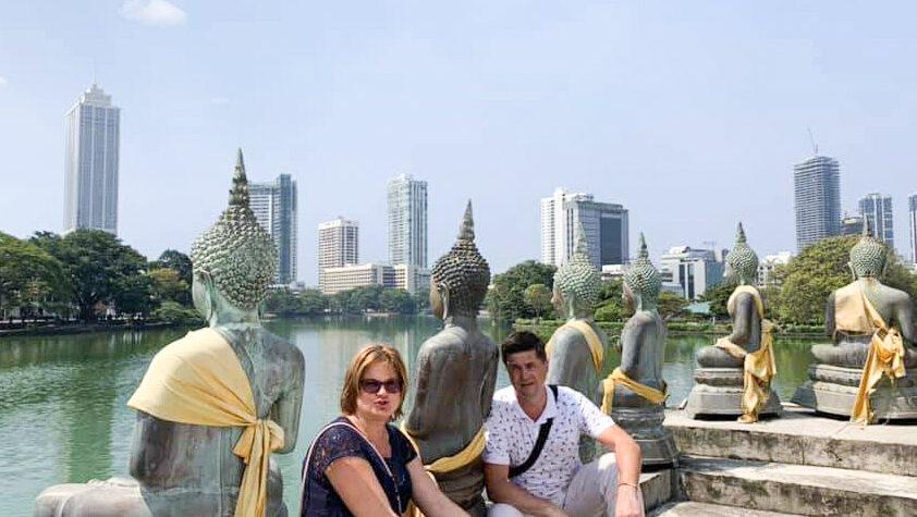 Коломбо, Храм на воде