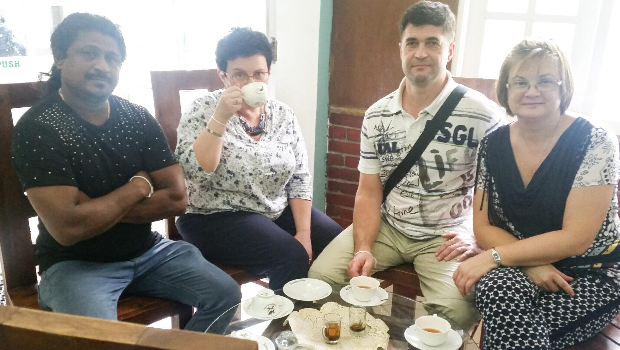 Дегустация цейлонского чая