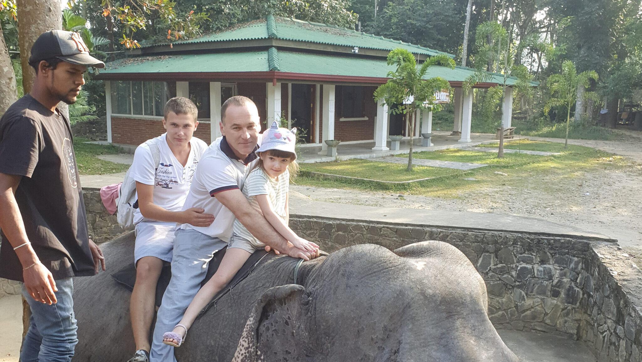 На слоновьей ферме